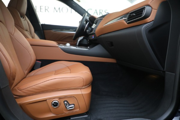New 2021 Maserati Levante S GranSport for sale $112,799 at Rolls-Royce Motor Cars Greenwich in Greenwich CT 06830 22
