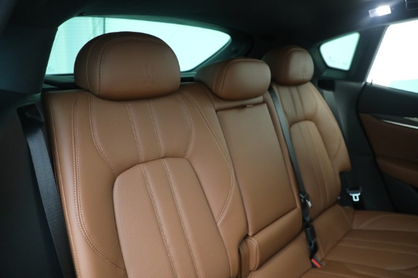 New 2021 Maserati Levante S GranSport for sale $112,799 at Rolls-Royce Motor Cars Greenwich in Greenwich CT 06830 24