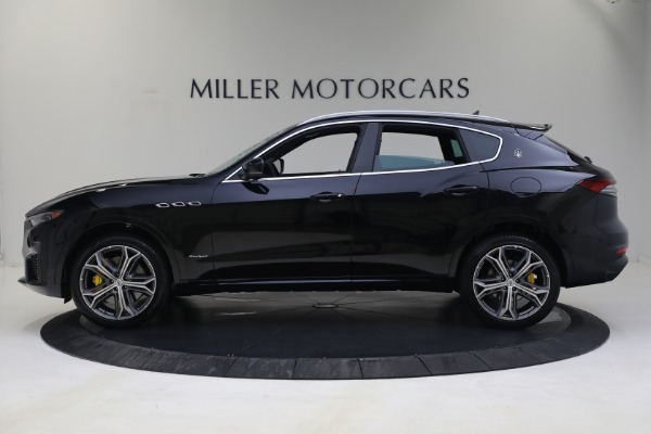 New 2021 Maserati Levante S GranSport for sale $112,799 at Rolls-Royce Motor Cars Greenwich in Greenwich CT 06830 3
