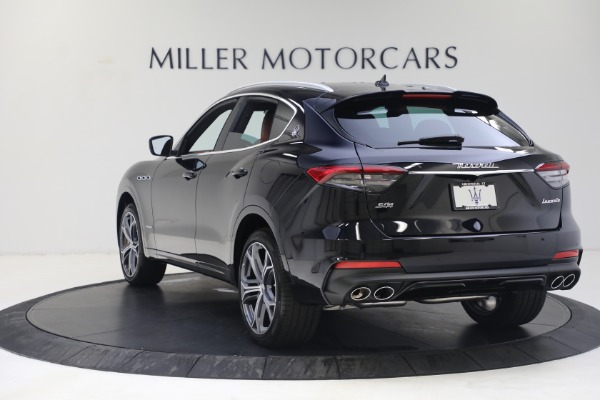 New 2021 Maserati Levante S GranSport for sale $112,799 at Rolls-Royce Motor Cars Greenwich in Greenwich CT 06830 5