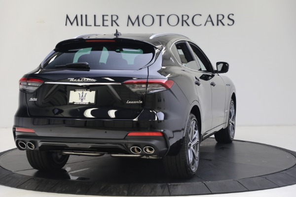 New 2021 Maserati Levante S GranSport for sale $112,799 at Rolls-Royce Motor Cars Greenwich in Greenwich CT 06830 7