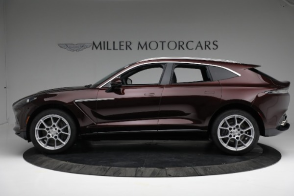 New 2021 Aston Martin DBX for sale $196,386 at Rolls-Royce Motor Cars Greenwich in Greenwich CT 06830 2