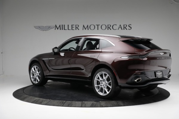 New 2021 Aston Martin DBX for sale $196,386 at Rolls-Royce Motor Cars Greenwich in Greenwich CT 06830 3