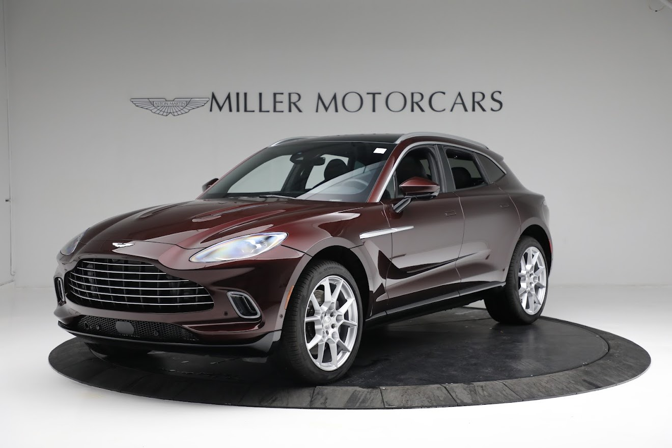 New 2021 Aston Martin DBX for sale $196,386 at Rolls-Royce Motor Cars Greenwich in Greenwich CT 06830 1