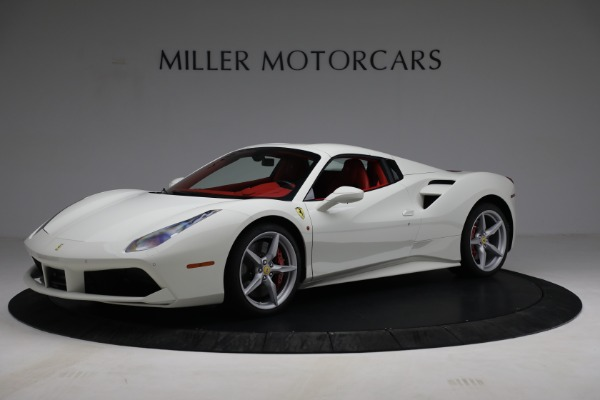 Used 2017 Ferrari 488 Spider for sale Call for price at Rolls-Royce Motor Cars Greenwich in Greenwich CT 06830 14