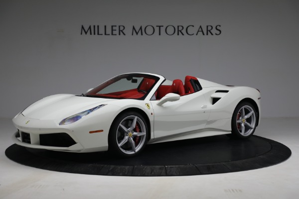 Used 2017 Ferrari 488 Spider for sale Call for price at Rolls-Royce Motor Cars Greenwich in Greenwich CT 06830 2