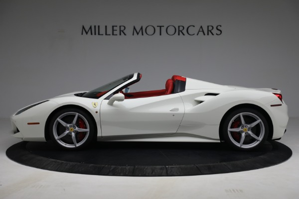 Used 2017 Ferrari 488 Spider for sale Call for price at Rolls-Royce Motor Cars Greenwich in Greenwich CT 06830 3