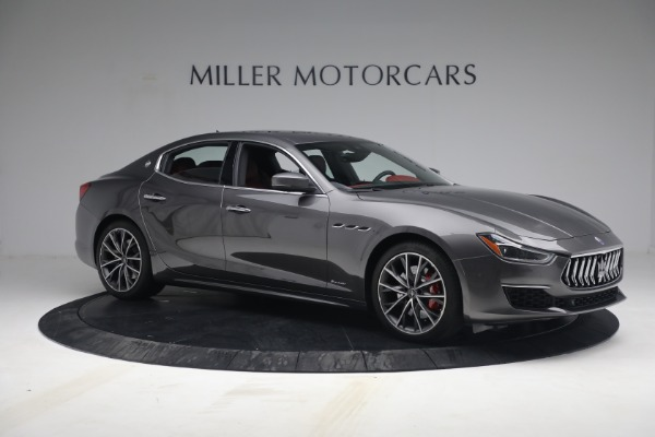 New 2021 Maserati Ghibli SQ4 GranLusso for sale Sold at Rolls-Royce Motor Cars Greenwich in Greenwich CT 06830 10