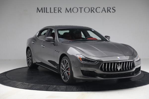 New 2021 Maserati Ghibli SQ4 GranLusso for sale Sold at Rolls-Royce Motor Cars Greenwich in Greenwich CT 06830 11
