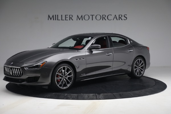 New 2021 Maserati Ghibli SQ4 GranLusso for sale Sold at Rolls-Royce Motor Cars Greenwich in Greenwich CT 06830 2