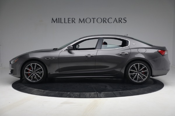 New 2021 Maserati Ghibli SQ4 GranLusso for sale Sold at Rolls-Royce Motor Cars Greenwich in Greenwich CT 06830 3