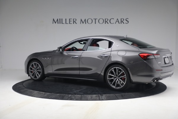 New 2021 Maserati Ghibli SQ4 GranLusso for sale Sold at Rolls-Royce Motor Cars Greenwich in Greenwich CT 06830 4