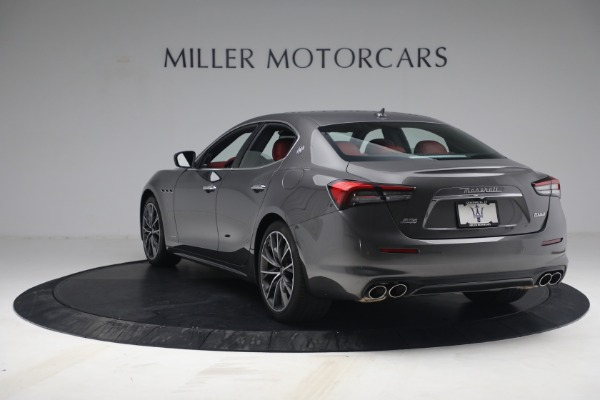 New 2021 Maserati Ghibli SQ4 GranLusso for sale Sold at Rolls-Royce Motor Cars Greenwich in Greenwich CT 06830 5