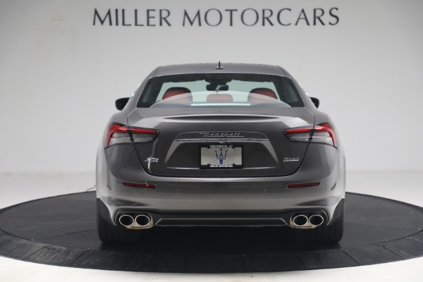 New 2021 Maserati Ghibli SQ4 GranLusso for sale Sold at Rolls-Royce Motor Cars Greenwich in Greenwich CT 06830 6