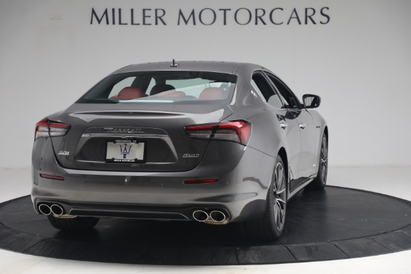 New 2021 Maserati Ghibli SQ4 GranLusso for sale Sold at Rolls-Royce Motor Cars Greenwich in Greenwich CT 06830 7