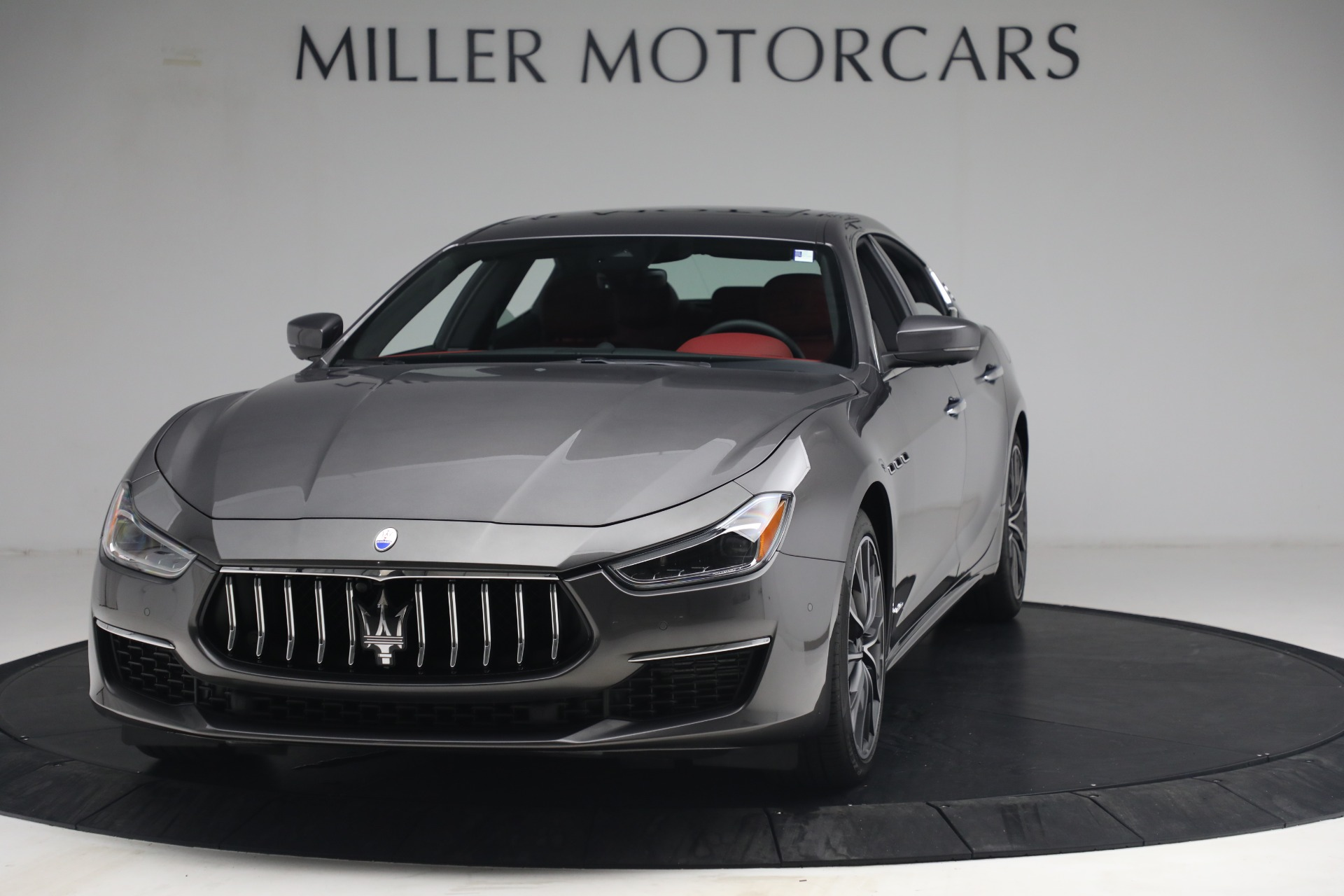 New 2021 Maserati Ghibli SQ4 GranLusso for sale Sold at Rolls-Royce Motor Cars Greenwich in Greenwich CT 06830 1