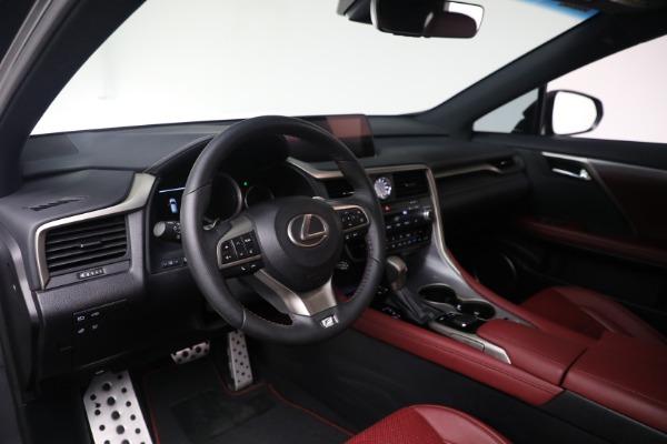 Used 2018 Lexus RX 350 F SPORT for sale $46,500 at Rolls-Royce Motor Cars Greenwich in Greenwich CT 06830 13