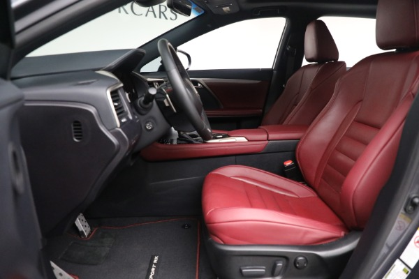 Used 2018 Lexus RX 350 F SPORT for sale $46,500 at Rolls-Royce Motor Cars Greenwich in Greenwich CT 06830 14