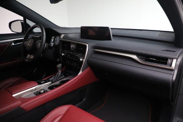 Used 2018 Lexus RX 350 F SPORT for sale $46,500 at Rolls-Royce Motor Cars Greenwich in Greenwich CT 06830 18
