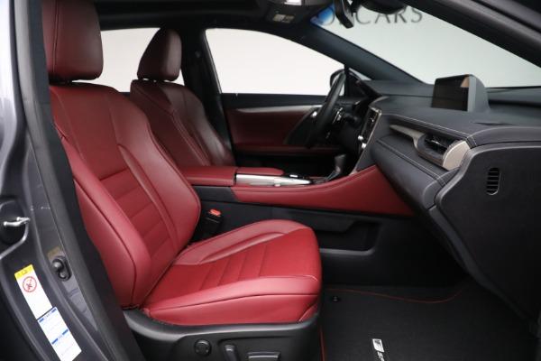 Used 2018 Lexus RX 350 F SPORT for sale $46,500 at Rolls-Royce Motor Cars Greenwich in Greenwich CT 06830 19