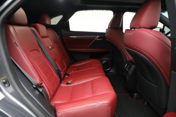 Used 2018 Lexus RX 350 F SPORT for sale $46,500 at Rolls-Royce Motor Cars Greenwich in Greenwich CT 06830 22
