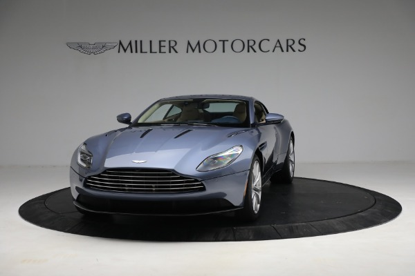 Used 2018 Aston Martin DB11 V12 for sale $164,990 at Rolls-Royce Motor Cars Greenwich in Greenwich CT 06830 12