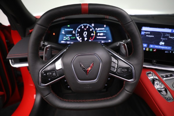Used 2020 Chevrolet Corvette Stingray for sale Call for price at Rolls-Royce Motor Cars Greenwich in Greenwich CT 06830 23