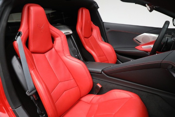 Used 2020 Chevrolet Corvette Stingray for sale Call for price at Rolls-Royce Motor Cars Greenwich in Greenwich CT 06830 24