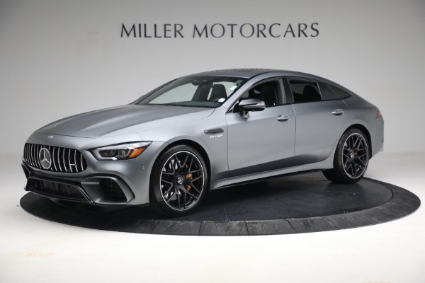 Used 2019 Mercedes-Benz AMG GT 63 for sale Call for price at Rolls-Royce Motor Cars Greenwich in Greenwich CT 06830 2