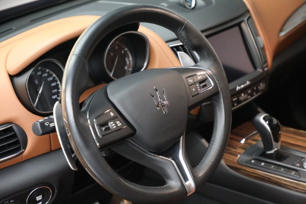 Used 2018 Maserati Levante GranSport for sale $57,900 at Rolls-Royce Motor Cars Greenwich in Greenwich CT 06830 17