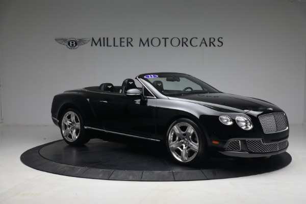 Used 2012 Bentley Continental GTC GT for sale $119,900 at Rolls-Royce Motor Cars Greenwich in Greenwich CT 06830 10