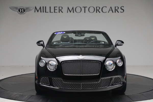 Used 2012 Bentley Continental GTC GT for sale $119,900 at Rolls-Royce Motor Cars Greenwich in Greenwich CT 06830 11
