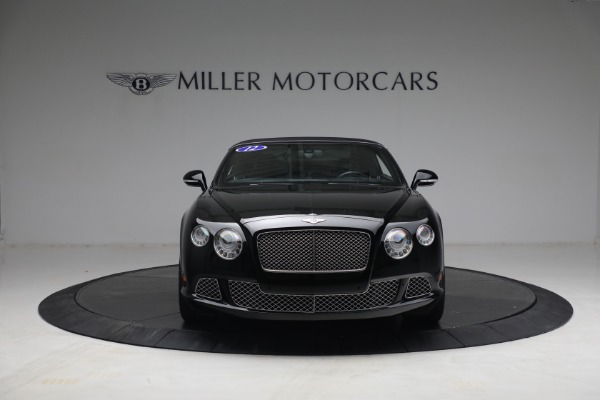 Used 2012 Bentley Continental GTC GT for sale $119,900 at Rolls-Royce Motor Cars Greenwich in Greenwich CT 06830 21