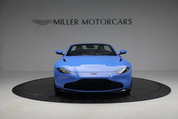 New 2021 Aston Martin Vantage Roadster for sale $186,386 at Rolls-Royce Motor Cars Greenwich in Greenwich CT 06830 10