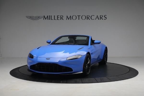 New 2021 Aston Martin Vantage Roadster for sale $186,386 at Rolls-Royce Motor Cars Greenwich in Greenwich CT 06830 11
