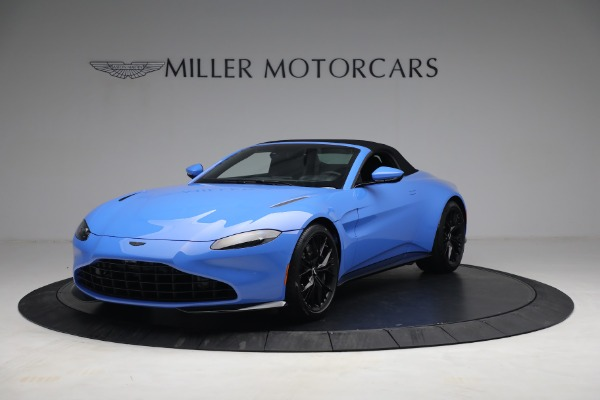 New 2021 Aston Martin Vantage Roadster for sale $186,386 at Rolls-Royce Motor Cars Greenwich in Greenwich CT 06830 12