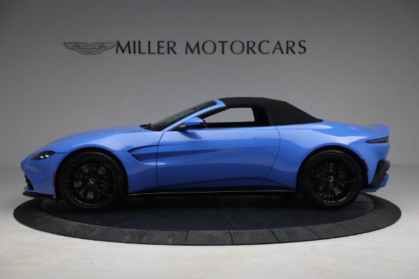 New 2021 Aston Martin Vantage Roadster for sale $186,386 at Rolls-Royce Motor Cars Greenwich in Greenwich CT 06830 13