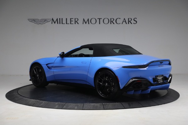 New 2021 Aston Martin Vantage Roadster for sale $186,386 at Rolls-Royce Motor Cars Greenwich in Greenwich CT 06830 14