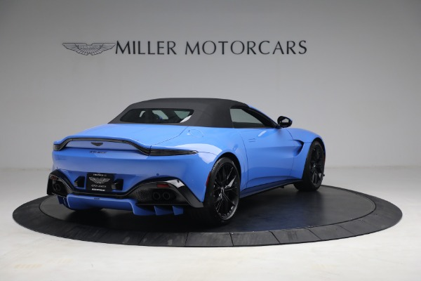 New 2021 Aston Martin Vantage Roadster for sale $186,386 at Rolls-Royce Motor Cars Greenwich in Greenwich CT 06830 15