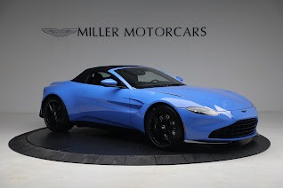 New 2021 Aston Martin Vantage Roadster for sale $186,386 at Rolls-Royce Motor Cars Greenwich in Greenwich CT 06830 17