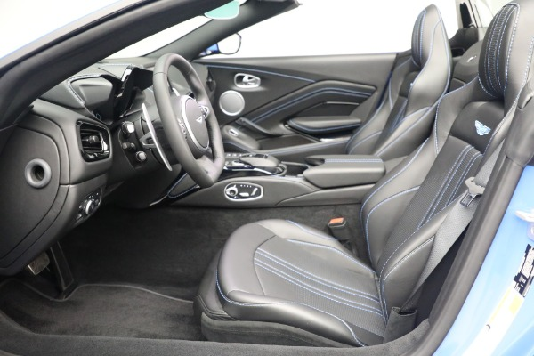 New 2021 Aston Martin Vantage Roadster for sale $186,386 at Rolls-Royce Motor Cars Greenwich in Greenwich CT 06830 18