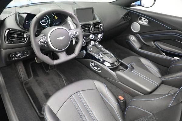 New 2021 Aston Martin Vantage Roadster for sale $186,386 at Rolls-Royce Motor Cars Greenwich in Greenwich CT 06830 19