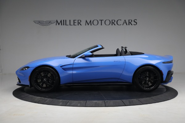 New 2021 Aston Martin Vantage Roadster for sale $186,386 at Rolls-Royce Motor Cars Greenwich in Greenwich CT 06830 2