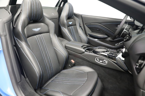 New 2021 Aston Martin Vantage Roadster for sale $186,386 at Rolls-Royce Motor Cars Greenwich in Greenwich CT 06830 22
