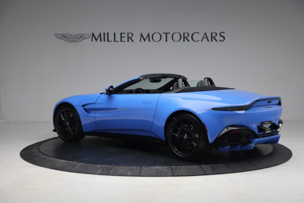 New 2021 Aston Martin Vantage Roadster for sale $186,386 at Rolls-Royce Motor Cars Greenwich in Greenwich CT 06830 3