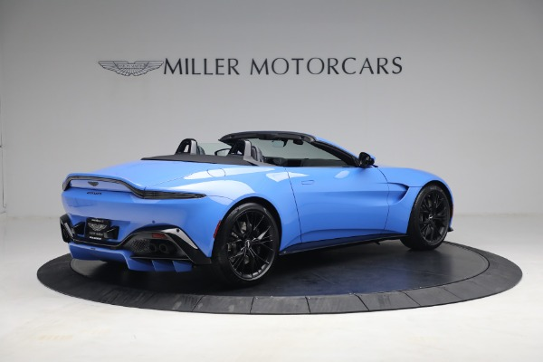 New 2021 Aston Martin Vantage Roadster for sale $186,386 at Rolls-Royce Motor Cars Greenwich in Greenwich CT 06830 6