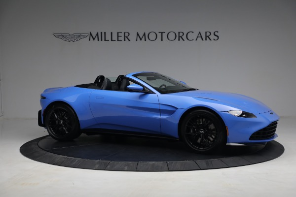 New 2021 Aston Martin Vantage Roadster for sale $186,386 at Rolls-Royce Motor Cars Greenwich in Greenwich CT 06830 8