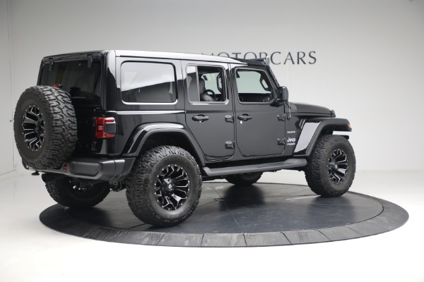 Used 2020 Jeep Wrangler Unlimited Sahara for sale Sold at Rolls-Royce Motor Cars Greenwich in Greenwich CT 06830 10