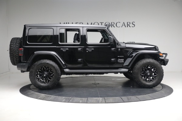 Used 2020 Jeep Wrangler Unlimited Sahara for sale Sold at Rolls-Royce Motor Cars Greenwich in Greenwich CT 06830 11
