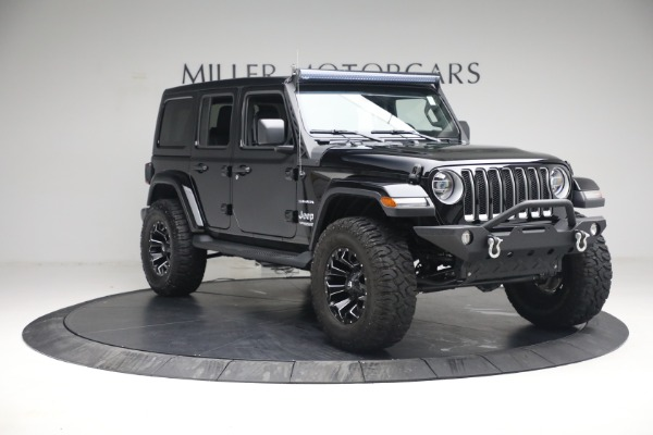 Used 2020 Jeep Wrangler Unlimited Sahara for sale Sold at Rolls-Royce Motor Cars Greenwich in Greenwich CT 06830 13